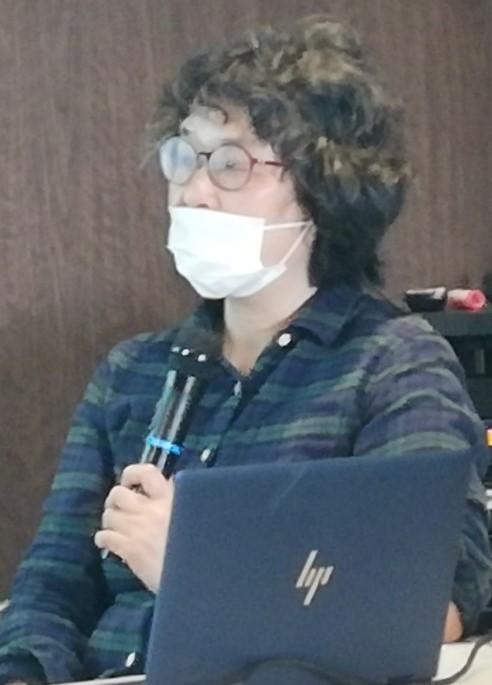 講師の松波めぐみさん